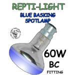 Blue Basking Spotlamps 60w BC